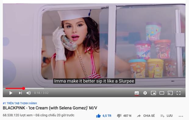 BLACKPINK và Selena Gomez chính thức đạt top 1 trending Việt Nam, chấm dứt 7 ngày #1 liên tiếp của BTS! - Ảnh 2.