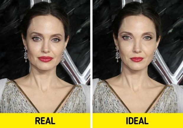 Bất ngờ với gương mặt của loạt nhan sắc nổi tiếng nhất nhì thế giới sau khi được chỉnh sửa theo tỷ lệ vàng cho hoàn hảo - Ảnh 1.