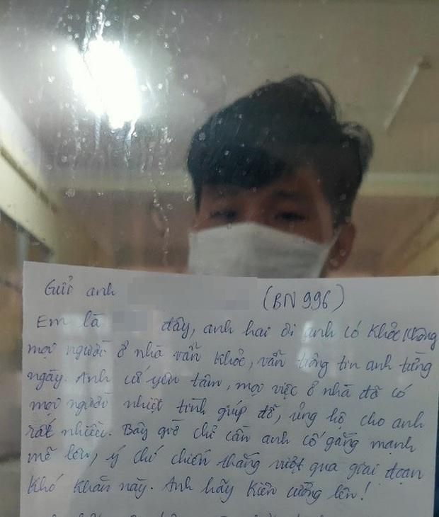 Nghẹn lòng bức thư bệnh nhân gửi anh trai cùng mắc Covid-19 trước khi anh qua đời - Ảnh 1.