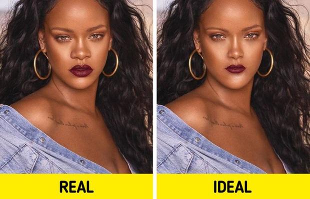 Bất ngờ với gương mặt của loạt nhan sắc nổi tiếng nhất nhì thế giới sau khi được chỉnh sửa theo tỷ lệ vàng cho hoàn hảo - Ảnh 4.