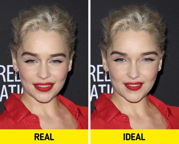 Bất ngờ với gương mặt của loạt nhan sắc nổi tiếng nhất nhì thế giới sau khi được chỉnh sửa theo tỷ lệ vàng cho hoàn hảo - Ảnh 2.