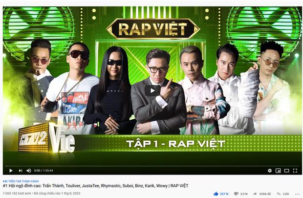 Không chỉ gây bão trong nước, Người ấy là ai & Rap Việt còn lọt top trending YouTube ở Singapore, Đài Loan! - Ảnh 4.