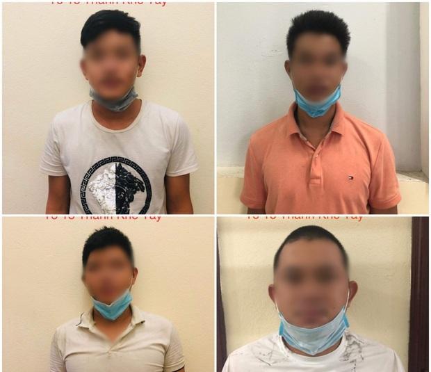 Đà Nẵng: Tổ chức ăn nhậu giữa mùa dịch Covid-19, 4 thanh niên bị phạt 42,5 triệu - Ảnh 1.