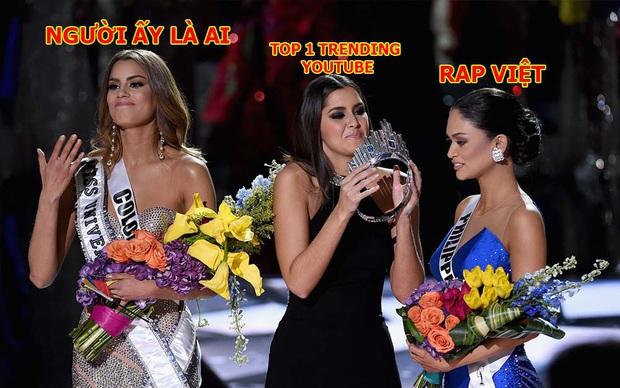Tập  1 Rap Việt đá luôn anh em chung nhà Người ấy là ai xuống để giành top 1 trending YouTube - Ảnh 6.