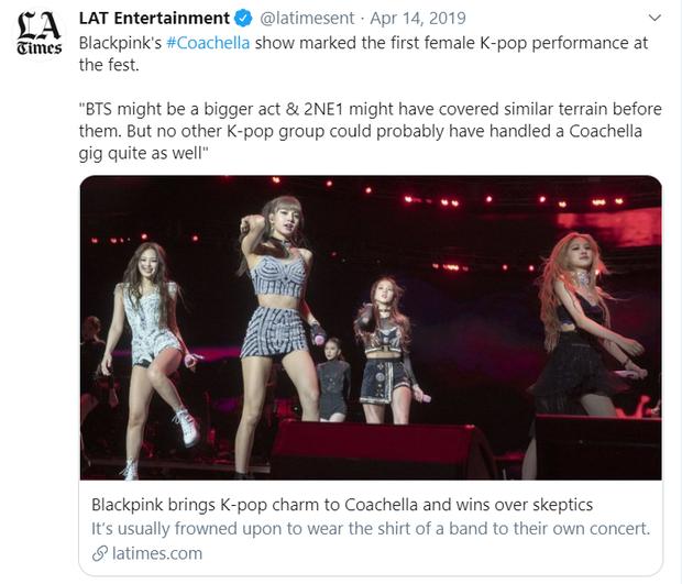 Tâng bốc BLACKPINK sau thành công tại Coachella, báo Mỹ từng hạ thấp BTS và 2NE1 khiến fan phẫn nộ - Ảnh 1.