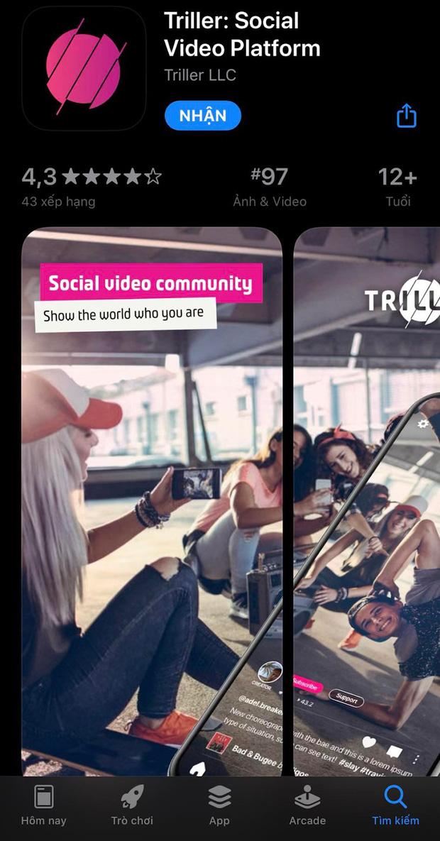 Triller - Ứng dụng mới đang âm thầm cạnh tranh với TikTok, có hơn 250 triệu lượt tải về chỉ trong 2 ngày - Ảnh 2.