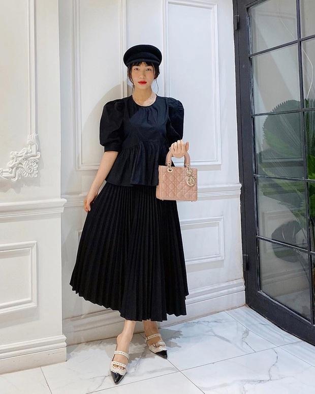 Nhờ Hòa Minzy, các nàng sẽ biết bộ đôi váy + giày là khắc tinh của team chân ngắn, diện lên trông lùn tịt - Ảnh 3.