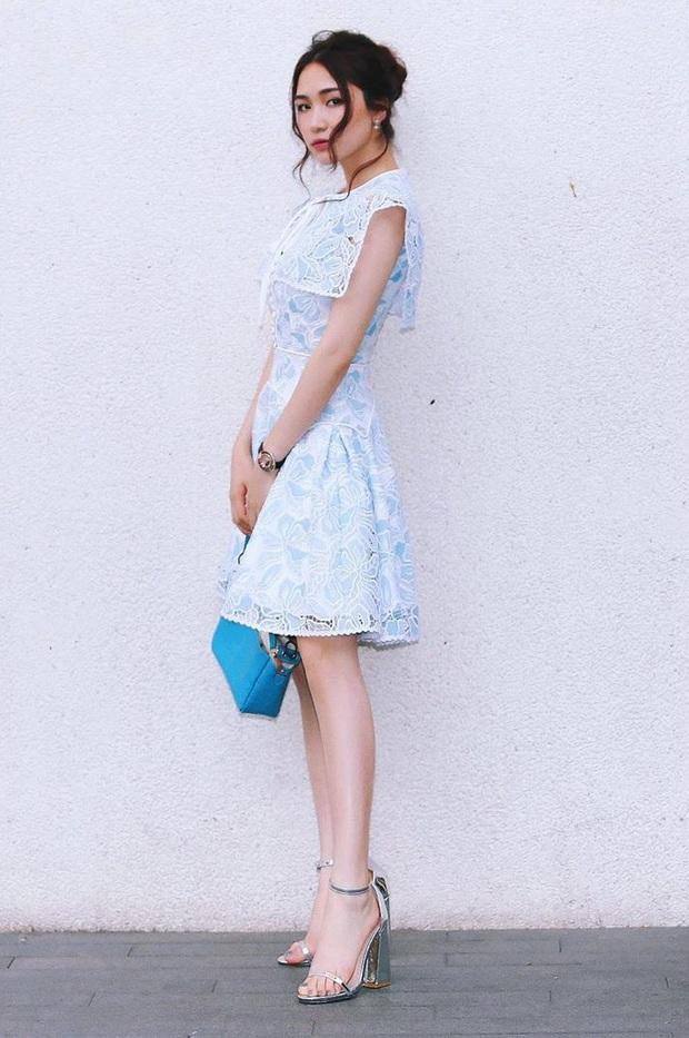 Nhờ Hòa Minzy, các nàng sẽ biết bộ đôi váy + giày là khắc tinh của team chân ngắn, diện lên trông lùn tịt - Ảnh 4.