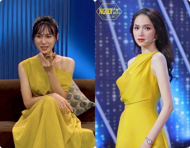5 lần 7 lượt Lynk Lee ăn diện đặc sệt Hương Giang: Là học hỏi phong cách hay muốn làm bản sao của Hoa hậu chuyển giới? - Ảnh 5.