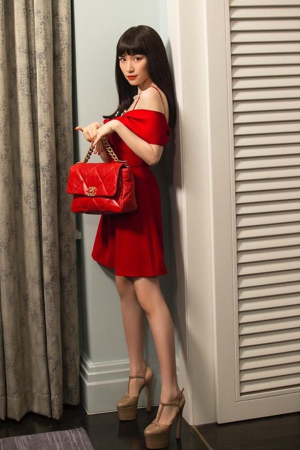 Nhờ Hòa Minzy, các nàng sẽ biết bộ đôi váy + giày là khắc tinh của team chân ngắn, diện lên trông lùn tịt - Ảnh 6.