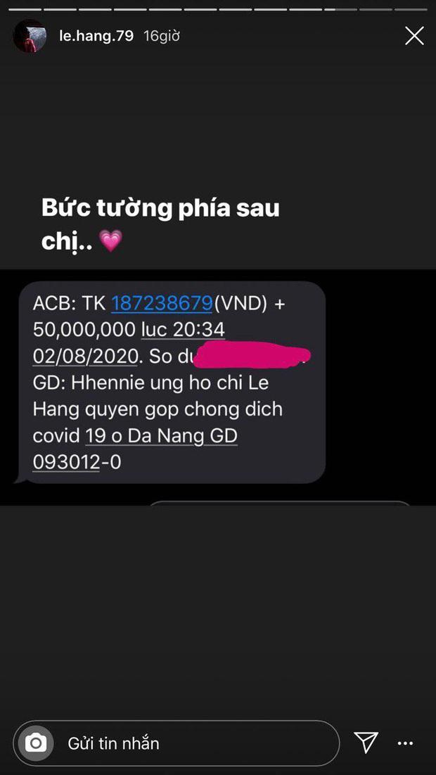 Sao Vbiz đồng lòng hỗ trợ Đà Nẵng chống dịch: Denis - Trung Quân kêu gọi gần 200 triệu, H'Hen Niê nói rõ lí do góp 50 triệu - Ảnh 3.