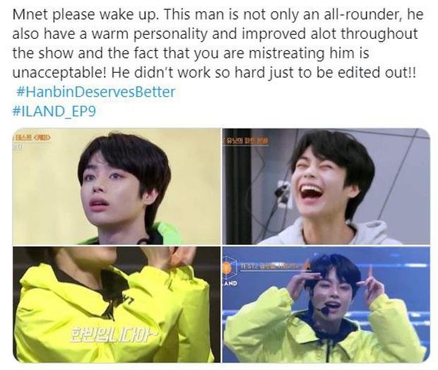 Netizen tố Mnet cắt giảm thời lượng lên hình của Hanbin (Việt Nam): Điềm báo cho việc sắp bị loại?  - Ảnh 2.