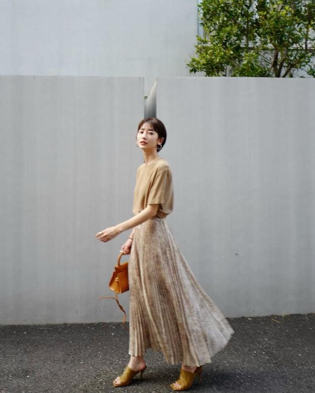 Nàng công sở Nhật chỉ cao 1m58 vẫn mặc đẹp hack dáng khiến đồng nghiệp phải khen ngợi - Ảnh 7.
