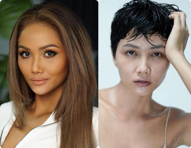 Sao Việt trước và sau khi trang điểm: Người lấm tấm mụn và quầng thâm, người có làn da đẹp mịn mướt - Ảnh 6.