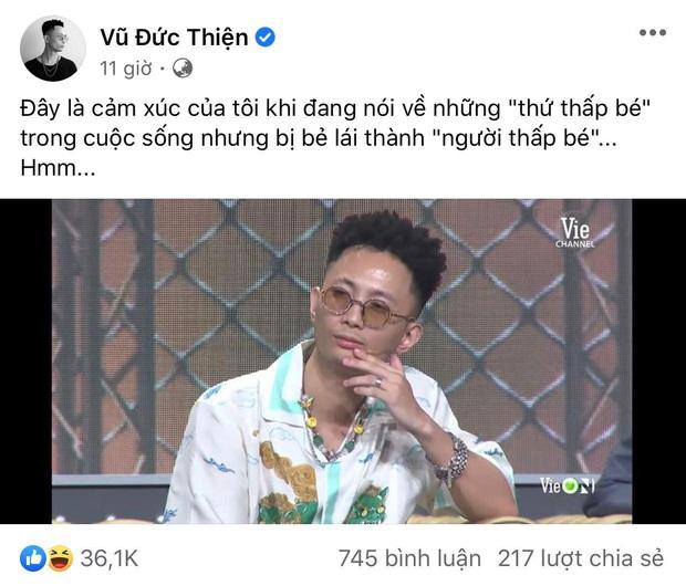 Rhymastic thừa nhận có đánh nhau kín với Wowy trên sân khấu Rap Việt - Ảnh 3.