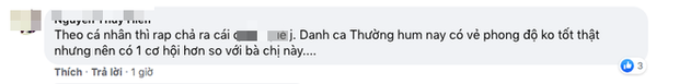 Á hậu Nguyễn Hà Kiều Loan gây tranh cãi tại King Of Rap: Người khuyên quay lại làm Beauty Queen, kẻ mỉa mai về nghe Suboi và Binz - Ảnh 7.