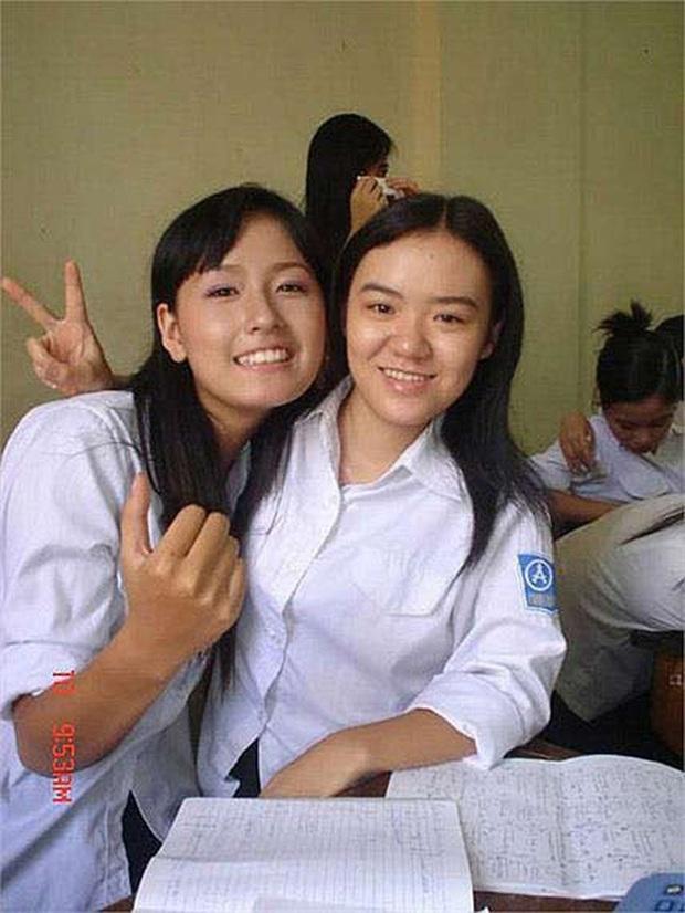 Hoa hậu Mai Phương Thuý thời học cấp 3: Chiều cao khủng, nhan sắc mộc mạc ngố tàu, info được truy tìm nhiều nhất trên các diễn đàn trường Phan - Ảnh 3.