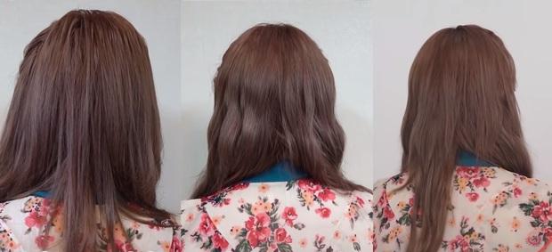 Cô nàng thử làm kiểu tóc nổi tiếng của IU ở 3 salon từ bình dân tới cao cấp: Tưởng như nhau nhưng soi kỹ mới thấy tiền nào của nấy - Ảnh 8.