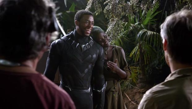 Đại gia đình Marvel đăng clip tưởng nhớ Báo Đen Chadwick Boseman: Anh xứng đáng đội vương miện như một vị vua đức hạnh - Ảnh 6.