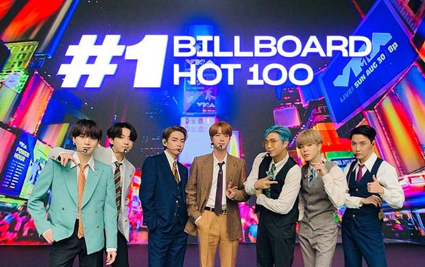 Lịch sử gọi tên BTS: Dynamite chính thức đạt #1 Billboard Hot 100, cả Châu Á đã chờ đợi kì tích này gần 60 năm! - Ảnh 3.