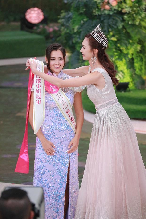 Tân Hoa hậu Hong Kong vừa đăng quang đã gây tranh cãi: Nhan sắc tựa Địch Lệ Nhiệt Ba nhưng chiều cao lại quá khiêm tốn - Ảnh 5.