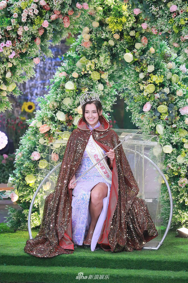 Tân Hoa hậu Hong Kong vừa đăng quang đã gây tranh cãi: Nhan sắc tựa Địch Lệ Nhiệt Ba nhưng chiều cao lại quá khiêm tốn - Ảnh 7.