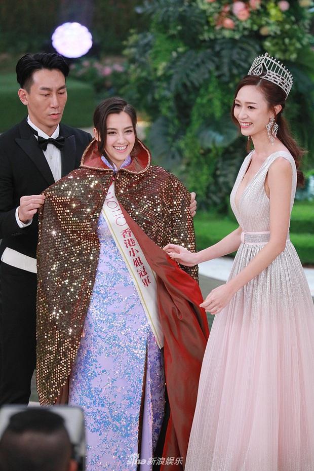 Tân Hoa hậu Hong Kong vừa đăng quang đã gây tranh cãi: Nhan sắc tựa Địch Lệ Nhiệt Ba nhưng chiều cao lại quá khiêm tốn - Ảnh 6.