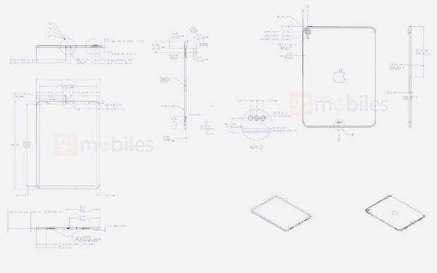 Rò rỉ bản vẽ iPad Air 4 sắp ra mắt của Apple - Ảnh 3.