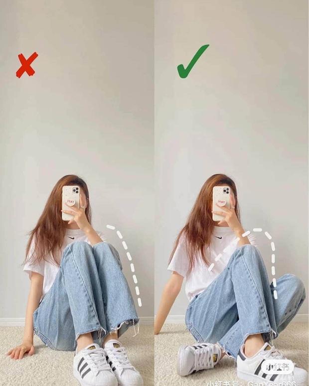Cứ chụp hình là thần thái lại bay biến sạch, dáng cũng lùn đi một mẩu là do bạn chưa biết cách pose chuẩn chỉnh - Ảnh 2.