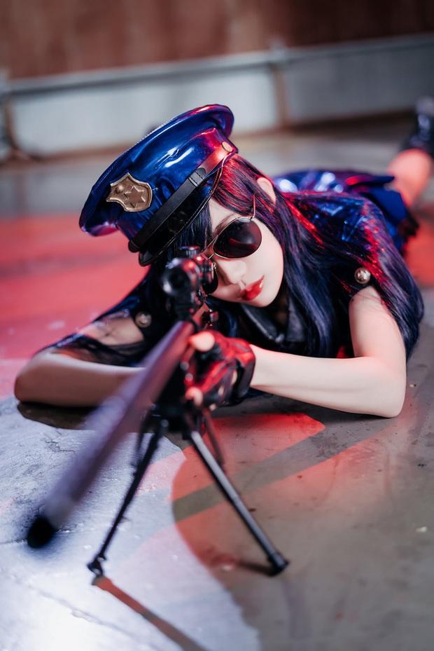 Rụng tim với bộ ảnh cosplay Caitlyn xinh như mộng, nhìn là muốn tan chảy - Ảnh 13.