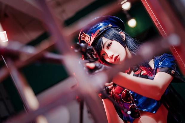 Rụng tim với bộ ảnh cosplay Caitlyn xinh như mộng, nhìn là muốn tan chảy - Ảnh 15.