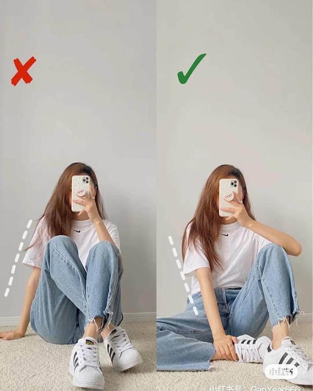 Cứ chụp hình là thần thái lại bay biến sạch, dáng cũng lùn đi một mẩu là do bạn chưa biết cách pose chuẩn chỉnh - Ảnh 3.
