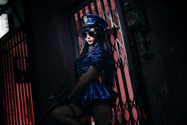 Rụng tim với bộ ảnh cosplay Caitlyn xinh như mộng, nhìn là muốn tan chảy - Ảnh 22.