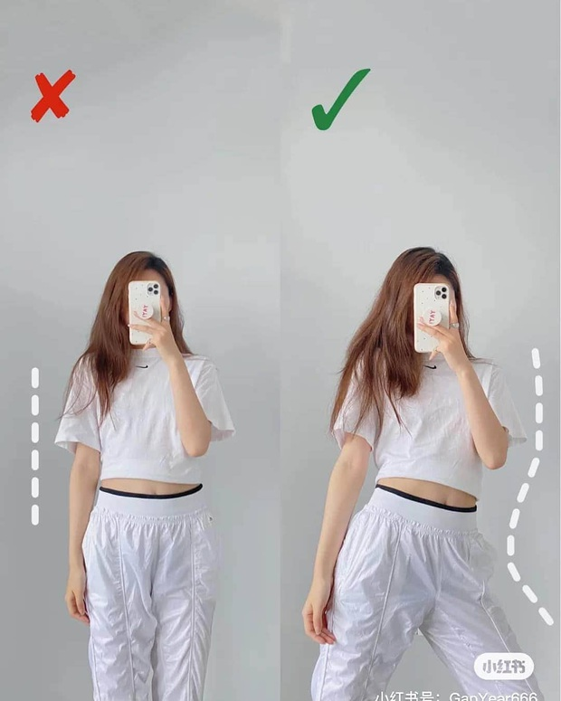 Cứ chụp hình là thần thái lại bay biến sạch, dáng cũng lùn đi một mẩu là do bạn chưa biết cách pose chuẩn chỉnh - Ảnh 4.