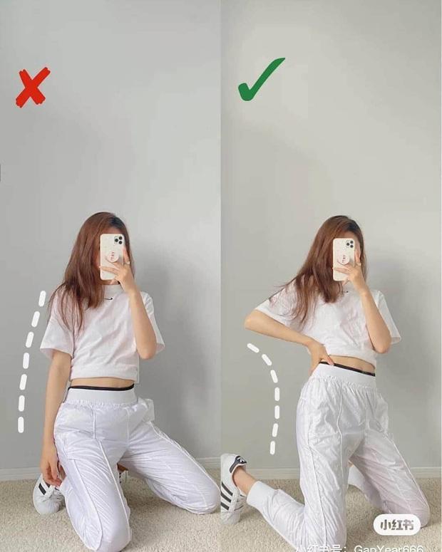 Cứ chụp hình là thần thái lại bay biến sạch, dáng cũng lùn đi một mẩu là do bạn chưa biết cách pose chuẩn chỉnh - Ảnh 6.