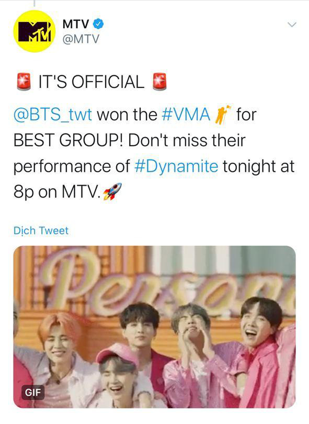 BTS chiến thắng Best Kpop và Best Group quá dễ dàng, BLACKPINK là nhóm nữ Kpop đầu tiên có giải tại MTV VMAs! - Ảnh 2.