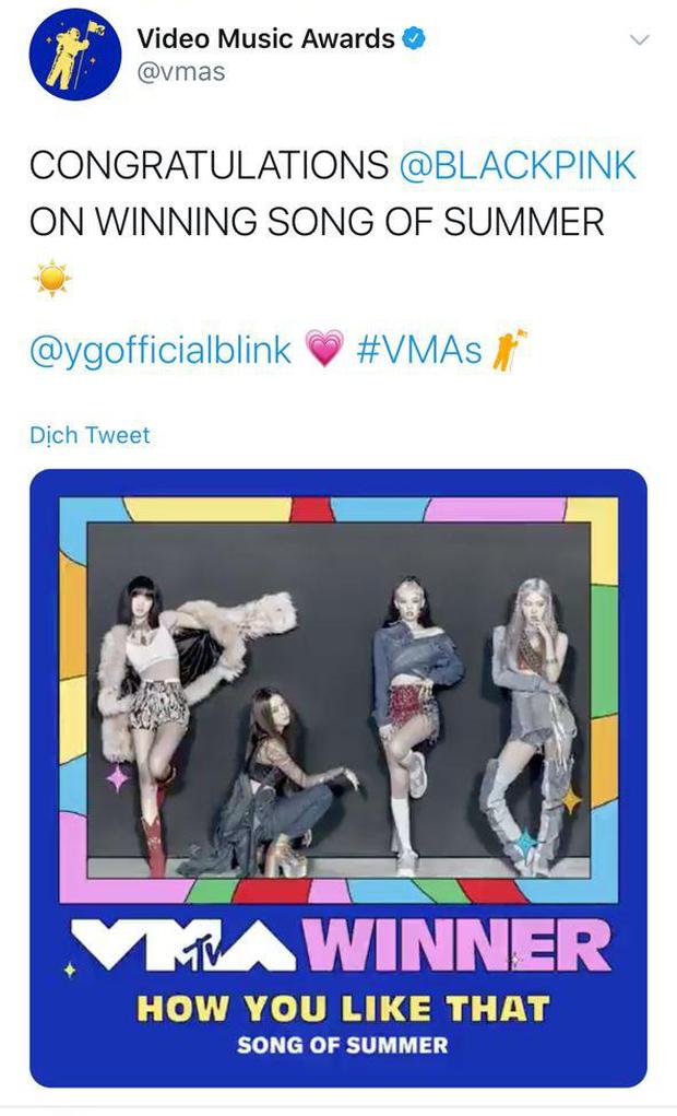BTS chiến thắng Best Kpop và Best Group quá dễ dàng, BLACKPINK là nhóm nữ Kpop đầu tiên có giải tại MTV VMAs! - Ảnh 5.