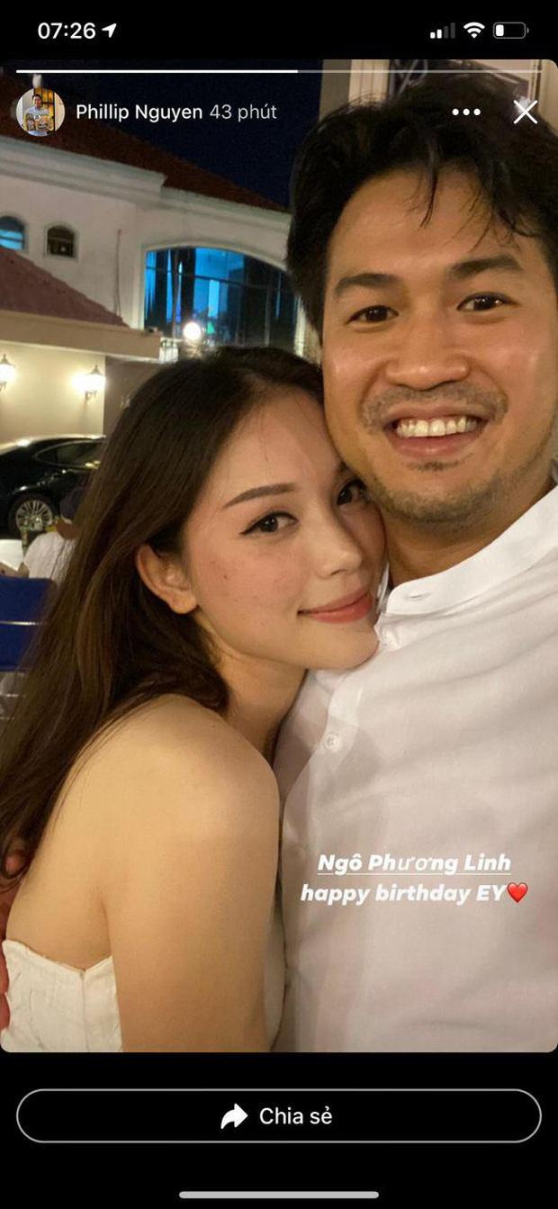 Linh Rin vỡ òa khi được Phillip Nguyễn và hội bạn tổ chức sinh nhật, chàng chỉ đứng đằng xa nhưng ánh mắt nói lên tất cả - Ảnh 5.
