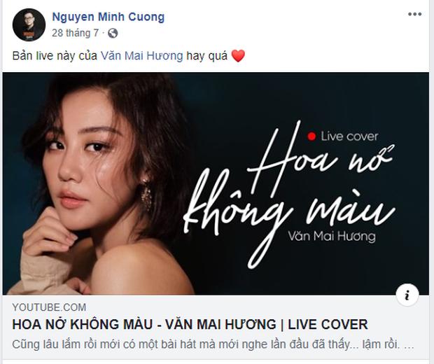 Văn Mai Hương làm rõ lùm xùm bị tố cover Hoa Nở Không Màu trái phép, còn cho biết nghệ sĩ khác hát hit của mình không cần hỏi vẫn okelah - Ảnh 8.