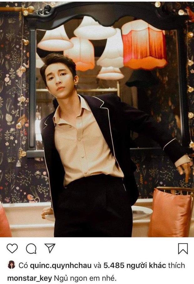 Soi bằng chứng cực phẩm Key (Monstar) hẹn hò Chế Nguyễn Quỳnh Châu, phát ngôn trái ngược của 2 phía có thể khiến fan dậy sóng - Ảnh 3.