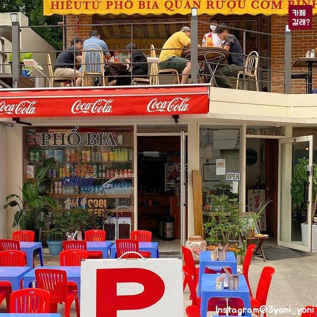 Một quán nhậu ở Seoul (Hàn Quốc) y hệt phố Tây Tạ Hiện từ A tới Z: Bàn ghế nhựa, đồ nhắm, kiểu gì cũng tưởng ở Việt Nam - Ảnh 1.