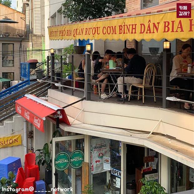 Một quán nhậu ở Seoul (Hàn Quốc) y hệt phố Tây Tạ Hiện từ A tới Z: Bàn ghế nhựa, đồ nhắm, kiểu gì cũng tưởng ở Việt Nam - Ảnh 7.