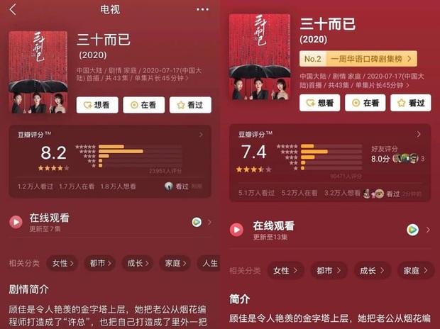 """5 lý do """"dở người"""" khiến phim Trung bị điểm xấu Douban: Quá cay chồng tồi 30 Chưa Phải Là Hết nên đánh 1 sao  - Ảnh 25."""