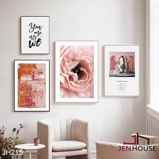 Muốn căn phòng của mình xịn sò như ảnh trên Pinterest, hội mê decor nhất định phải sắm một bộ tranh treo tường - Ảnh 15.