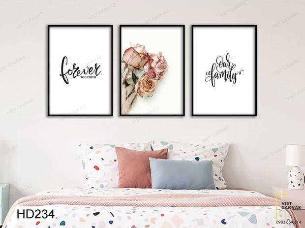 Muốn căn phòng của mình xịn sò như ảnh trên Pinterest, hội mê decor nhất định phải sắm một bộ tranh treo tường - Ảnh 13.