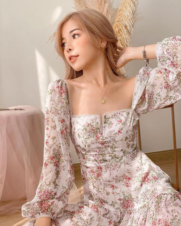 9 mẫu váy liền giúp các nàng có style xịn sò hẳn lên, diện đi chơi sống ảo không chê được điểm nào - Ảnh 11.