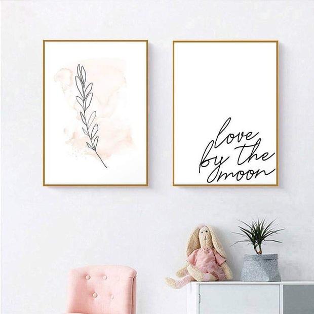 Muốn căn phòng của mình xịn sò như ảnh trên Pinterest, hội mê decor nhất định phải sắm một bộ tranh treo tường - Ảnh 3.