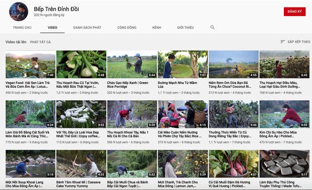 Một tháng sau khi bị netizen Trung Quốc tố, kênh YouTube Bếp Trên Đỉnh Đồi giờ thế nào? - Ảnh 4.