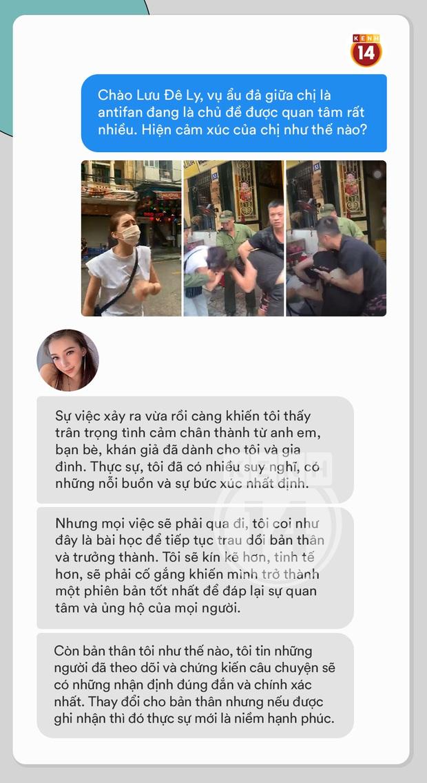Phỏng vấn nóng Lưu Đê Ly về vụ ẩu đả ở Hàng Buồm: Vợ chồng tôi đã vướng phải vụ hành hung được chuẩn bị kỹ càng từ trước - Ảnh 4.