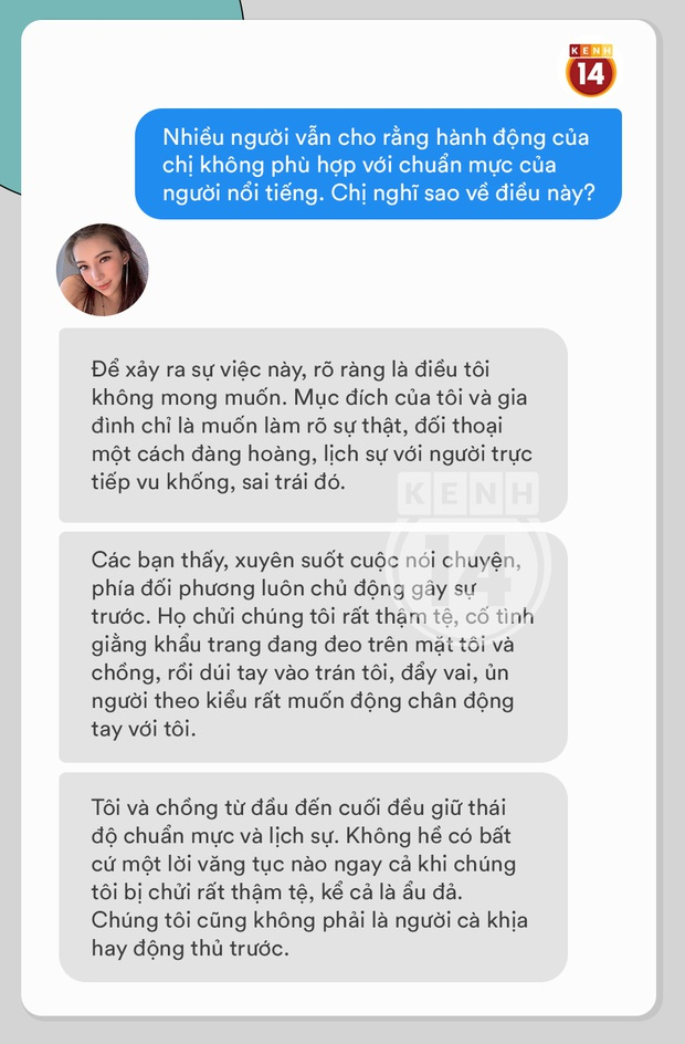 Phỏng vấn nóng Lưu Đê Ly về vụ ẩu đả ở Hàng Buồm: Vợ chồng tôi đã vướng phải vụ hành hung được chuẩn bị kỹ càng từ trước - Ảnh 12.
